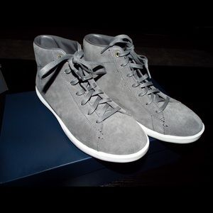 Grey high tops